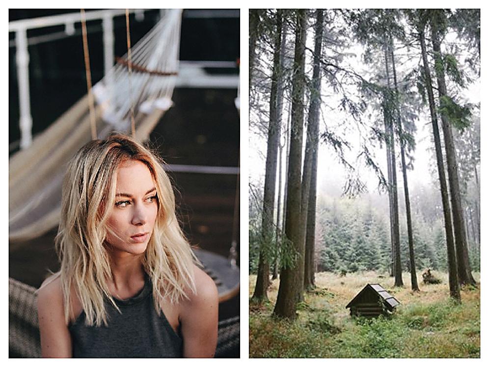 Jeanne Rondeau-Duchamarme z Montrealu a její snímek ze Slavkovského lesa, Foto: Instagram @jeannemap