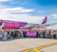 Wizz Air slaví 15 let létání a 200 milionů odbavených cestujících