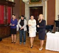 Zprava: Jolana Kopřiva Myslivcová (ACK ČR), Helena Degerme (majitelka zámku), Hana Musílková (MÚ Kutná Hora), Michaela Marková (zámek Světlá).