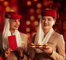 Emirates vítá čínský nový rok tradičními pochoutkami i filmovým překvapením