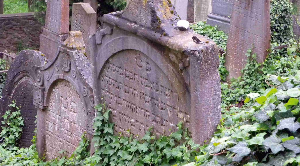 Třebíč - židovský hřbitov Foto: M. Jedličková