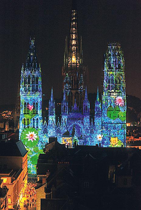 Rouen – Cathédrale de la Lumíre, Foto: OT Rouen
