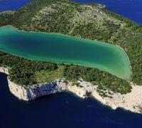 Slané jezero Mir na ostrově Dugi, Foto: Croatia.hr / Ivo Pervan