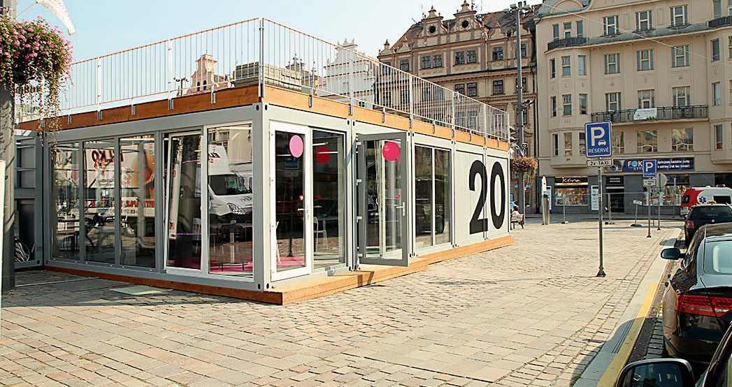 Meeting Point - infostánek Plzně 2015 Foto: Plzeň -Turismus