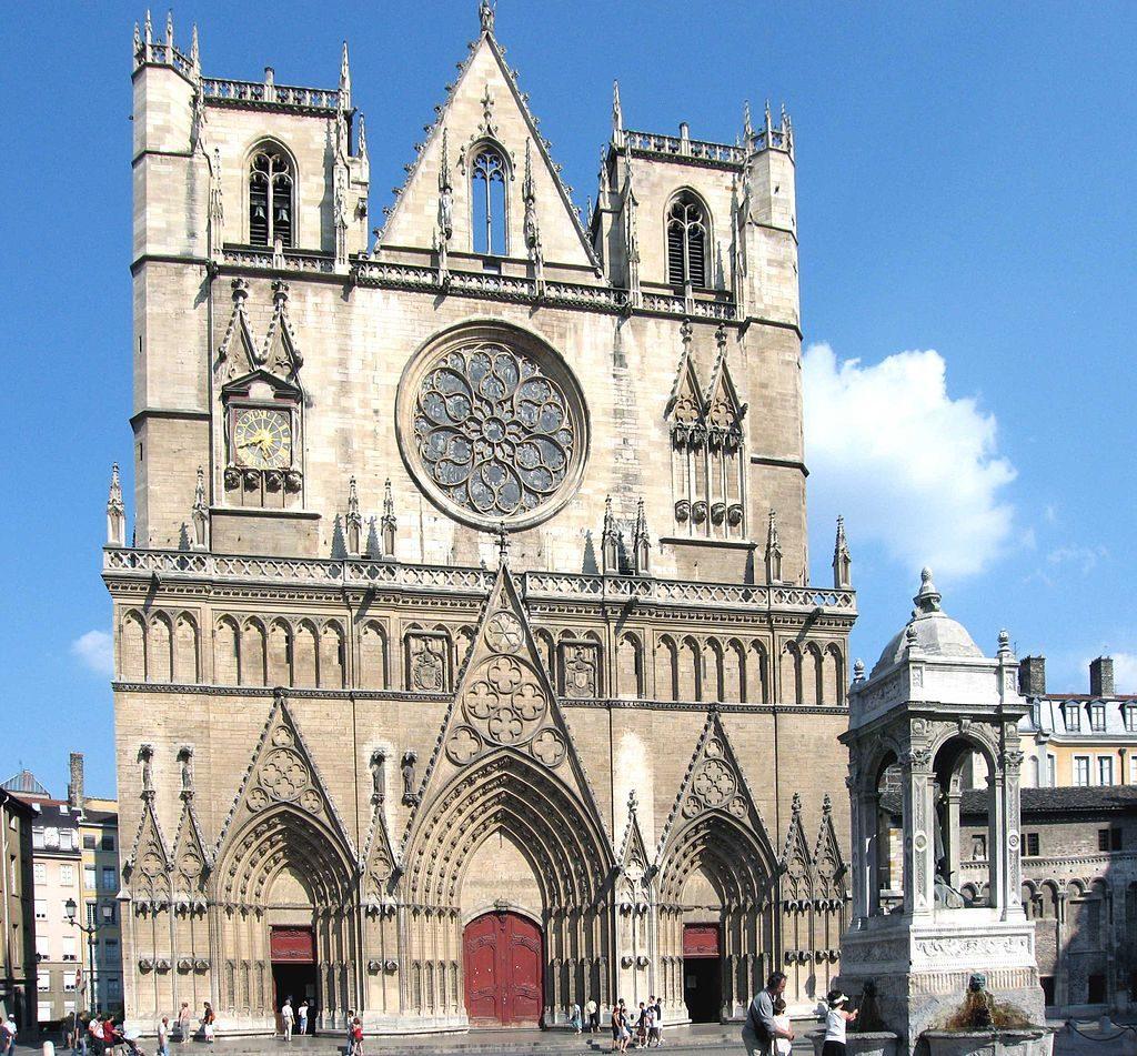 Katedrála v Lyonu, Foto: cs.wikipedia.org/Pline