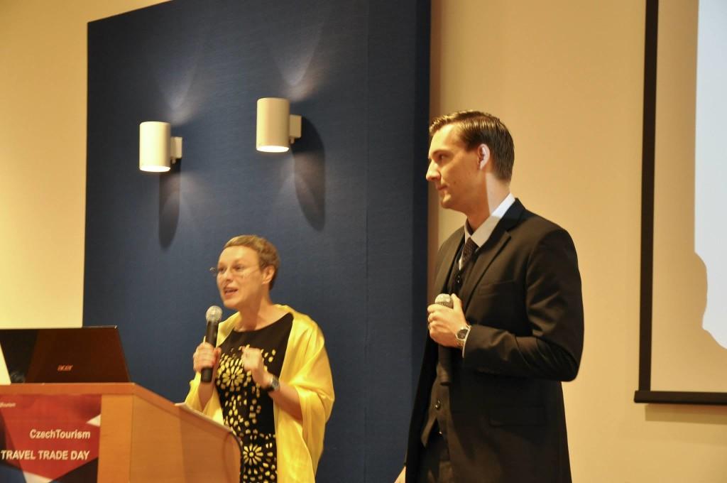 Noemi Benešová-Guerro (Čína - Peking) a František Reismüller (Čína - Šanghaj)  Foto: Lucie Poštolková