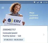 ERV Evropská pojišťovna představuje novou mobilní aplikaci