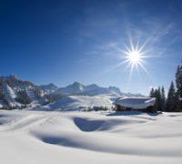 Rodinné Alpy v Saalachtalu