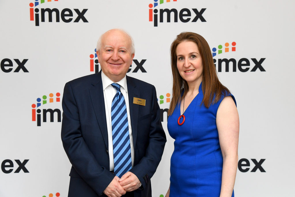 """An outstanding week of business and experiences to stir the imagination""  says Ray Bloom, Chairman of the IMEX Group"