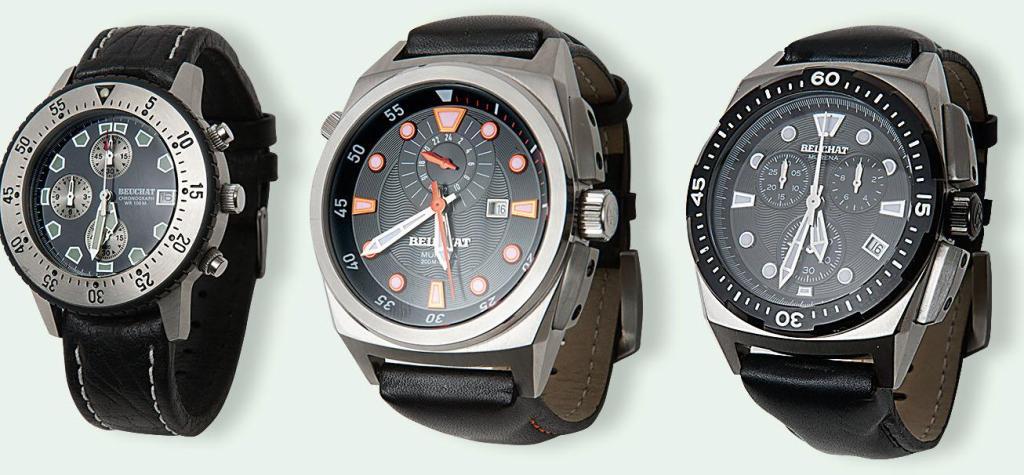 Poslední šance vyhrát vodotěsné hodinky zn. Beuchat. Soutěž končí již 20.  října. Foto  archiv firmy 84d4a06b36