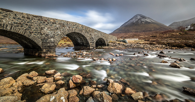 Sligachan bridge, Isle of Skye, Scotland, United Kingdom Foto: Flickr.com/Giuseppe Milo