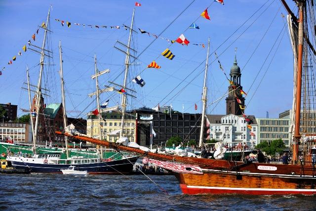 Hamburský přístav, Foto: www.mediaserver.hamburg.de