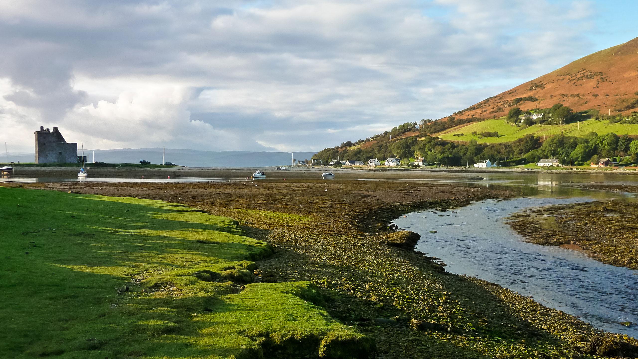 Ostrov Arran, Skotsko