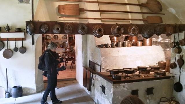 Černá kuchyně na hradě Kost, kde se natáčela pohádka S čerty nejsou žert,y Foto: Jiří Andres