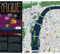 Vyšla nová edice unikátní mapy Prahy USE-IT pro mladé cestovatele