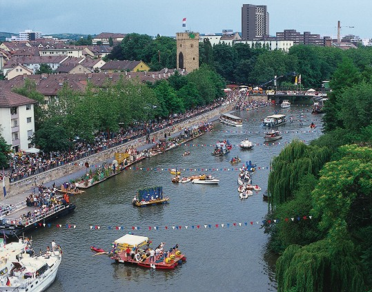 Řeka Neckar, Foto: Heilbronn Marketing GmbH