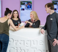 Oslavte Den turistických informačních center sPrague City Tourism