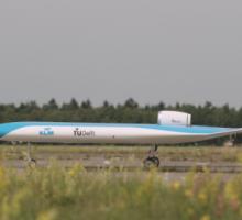 KLM slaví první úspěšný let futuristického modelu Flying-V