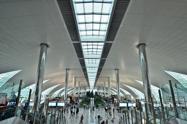 Nový terminál na mezinárodním letišti v Dubaji Foto: Flickr.com/roevin/Urban Capture