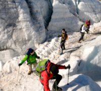 S horskými průvodci na vrchol