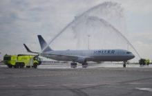 Na nové lince United Airlines z Prahy do Newarku se již létá!