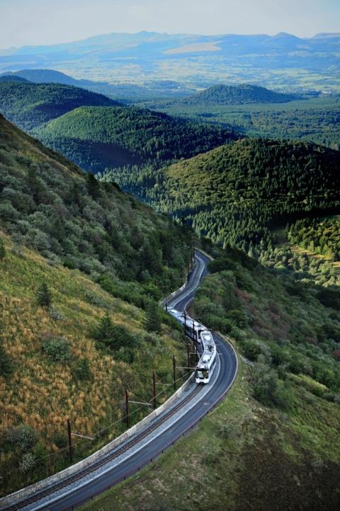 Panoramique des Dômes Foto: Auvergne Tourisme © Joël Damase