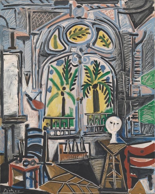 Pablo Picasso - Atelier (1955)
