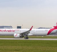 Air Arabia welcomes the first A321neo LR to its fleet