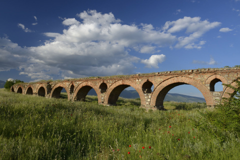 Akvadukt v Skopje Zdroj: Macedonia Timeless