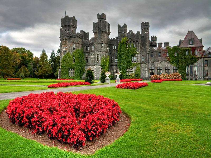 Ashford Castle (Cong, Irsko). Foto: bigstock.com