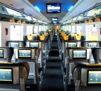 Interiér vagonu Astra, Foto: RegioJet