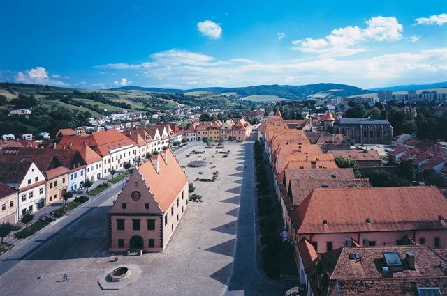 Bardejov, slovenské dědictví UNESCO, Foto: SACR