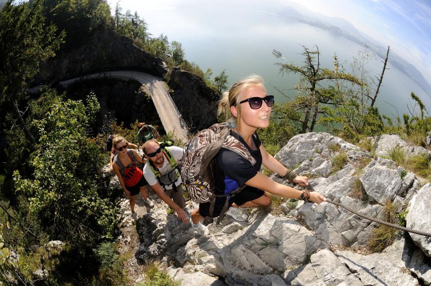 Bergsteigen Traunsee-Traunstein © MTV Ferienregion Traunsee