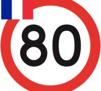 Ve Francii se od 1. července mimo obec jezdí maximálně 80 km/h