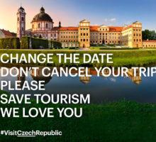 CZECH TOURISM: Nerušte cestu, změňte jen termín a zachraňte cestování