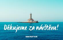 Chorvatsko děkuje zahraničním turistům za návštěvu