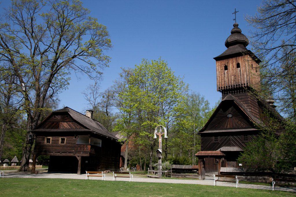 Dřevěné městečko Foto: Archiv muzea