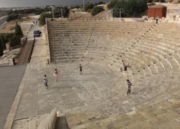 Amfiteátr v Kourionu, Foto: Jiří Andres