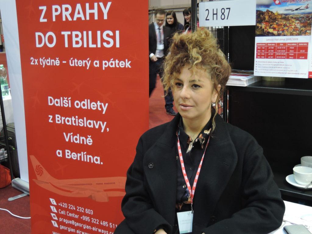 Letecká společnost Georgian Airways chce zvýšit počet letů mezi Prahou a Tbilisi