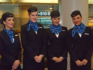Letušky Air Serbia, Foto: Vlaďka Bratršovská