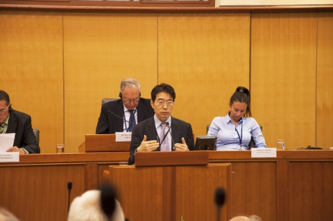 Jin Young Woo, poradce z UNWTO Secretary General on Tourism and Culture Foto: Lucie Poštolková
