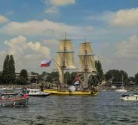 La Grace vplouvá do přístavu. Foto: Lucie Poštolková