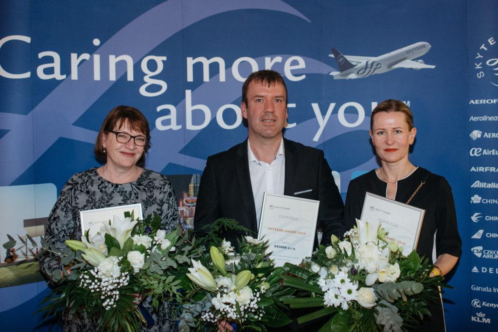 SkyTeam vyhlásil nejlepší IATA prodejce