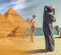 Příjmy Egypta z turistiky za první pololetí stouply o 77 procent