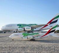 Emirates představila sběratelské modely letadel s livrejemi dubajského Expa 2020