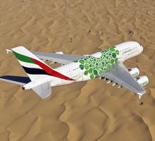 Společnost Emirates rozšiřuje letový řád a do Ammánu nasazuje A380