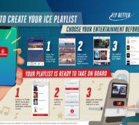 Aplikace Emirates má novou funkci pro personalizaci palubního playlistu