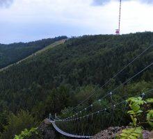 Kremnické vrchy: nové adrenalinové zážitky – Via ferratový svět