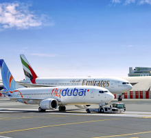 Emirates a flydubai obnovují partnerství a nabízejí spoje do více než 100 destinací přes Dubaj