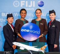 Na Fidži s British Airways a Fiji Airways